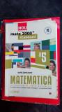 MATEMATICA ARITMETICA , ALGEBRA GEOMETRIE CLASA A V A - PITU , ZANOSCHI