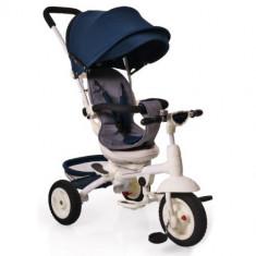 Tricicleta cu Sezut Rotativ si Functie MP3 Queen Bleumarin, Cangaroo
