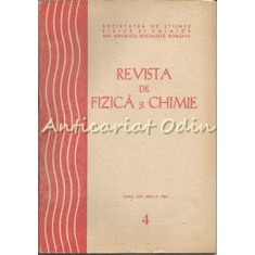 Revista De Fizica Si Chimie. Aprilie 1984