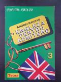 ENGLEZA PENTRU ADMITERE - Andrei Bantas (Partea 3)
