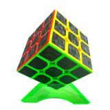 Cub Rubik 3x3x3 Yumo Cube Fibra de Carbon