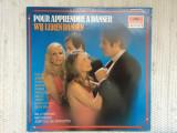 Pour apprendre a danser wij leren dansen various disc vinyl lp muzica pop lounge, VINIL, Polydor