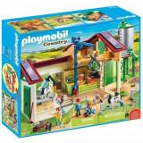 Set de Constructie Ferma Mare cu Siloz - Country, Playmobil