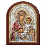 Maica Domnului Ierusalim Argint 17.5×22.5cm Color COD: 3037