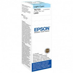 Cartus cerneala epson t6735 light cyan capacitate 70ml pentru epson