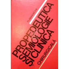 Propedeutica. Semiologie si clinica chirurgicala
