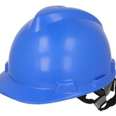 Casca protectie in 4 puncte albastra