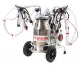 Aparat de muls vaci VEPEMIR 2 posturi si 1 bidon Inox 25 litri, VPM21S25