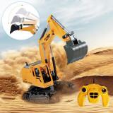 Excavator cu telecomanda 7 canale, reincarcabil USB, 18x13.5x33.5 cm, rotire 360 grade, ProCart