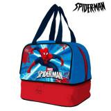 Punguță pentru Gustare Spiderman 32206 Albastru Roșu