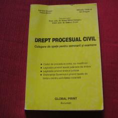 DREPT PROCESUAL CIVIL - Culegere de Spete pentru Seminarii - Viorel M. Ciobanu