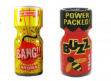 Cumpara ieftin BUZZ + BANG!! poppers 10ml, aroma camera, ORIGINAL, SIGILAT, rush, popers