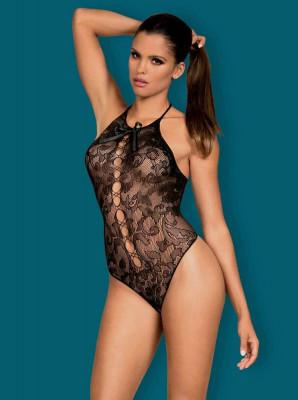 Body Sexy Din Dantela, Negru, S/M/L foto