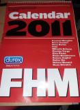Calendar vechi de colectie,Calendar FHM 2010,Vedete ROMANIA/fete sexy,T.GRATUIT