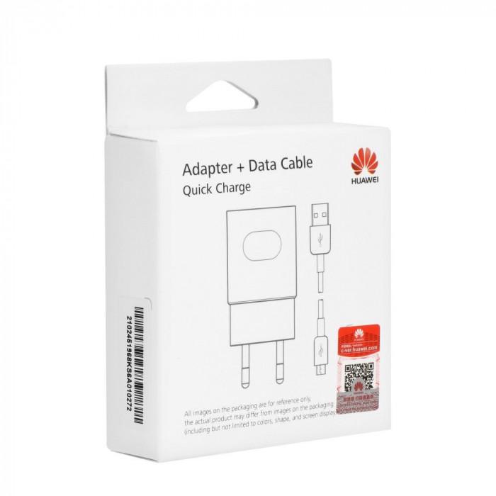 Incarcator Retea, Huawei AP32, Quick Charge, 2A, Alb, MicroUSB