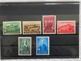 Timbre Ungaria 1938,Debrecen, serie completa, Nestampilat