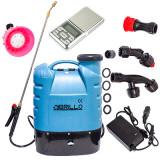 Pompa Stropit Electrica Brillo 20L,Acumulator|Manometru|+Cantar De Precizie
