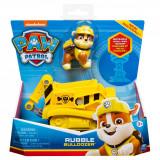 Masinuta cu figurina Paw Patrol, Rubble Bulldozer 20114323