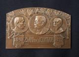 Placheta Scoala superioara de arhitectura 1922 - medalie
