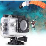 Camera Sport HD + Carcasa de protectie pentru apa