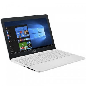 "Laptop ASUS VivoBook E12 E203NA-FD115TS, Intel HD Graphics 500, RAM 4GB, eMMC 32GB, Intel Celeron Dual-Core N3350, 11.6"", Windows 10, Pearl White"