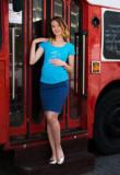 Fusta pentru gravide Ma'Jore Bianca 2