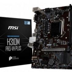 Placa de Baza MSI H310M PRO-VH PLUS, Intel H310, LGA1151v2, DDR4, mATX, Pentru INTEL, LGA 1151