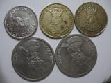 Romania (81) - 10 Lei 1992, 20 Lei 1991, 1992, 100 Lei 1992, 1994