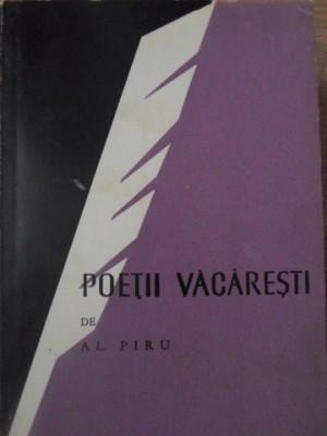 POETII VACARESTI - AL. PIRU foto