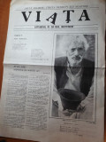 "ziarul viata 12-19 martie 1990-art. "" am fost medic la gherla"""