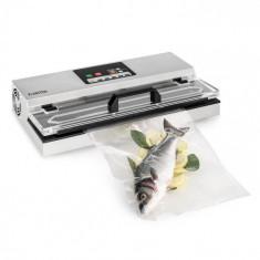 Klarstein FoodLocker 650, vacuum, 650 W, InstantSealing, oțel inoxidabil, argintiu
