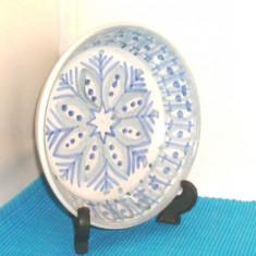 Bol gresie emailata 100% handmade - semnat Olof Larsson Laholm Keramik Suedia 3