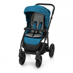 Carucior multifunctional 2 in 1 Baby Design Lupo Comfort 05 Turqouise 2018