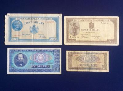 Bancnote România - Lot bancnote românești - starea care se vede (9) foto