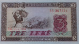 BANCNOTA 3 LEKE 1976-ALBANIA