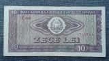 10 Lei 1966 Romania / seria 758764