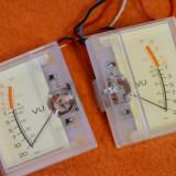 Instrument VU-metru analog casetofon