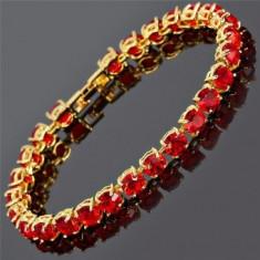 Bratara Luxury Red Brilliant Crystal