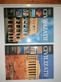 Cumpara ieftin LOT 2 CARTI CIVILIZATII VOL 1 SI 2 -SUEDIA , ITALIA , CIPRU