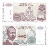 = CROATIA – 500 000 000  DINARI – BANJA LUKA – 1993 – FOARTE RARA - UNC