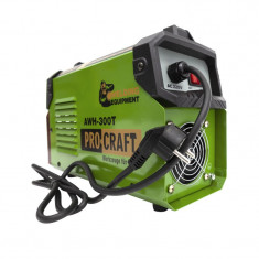 Aparat de sudura Craft Tec, 4500 W, 300 A, afisaj digital