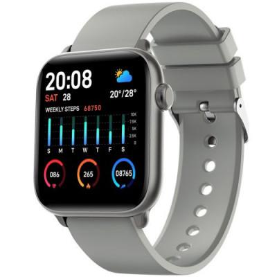 Smartwatch KW37 PRO KINGWEAR ceas 5 2020 presiune monitorizare OLED, szürke foto
