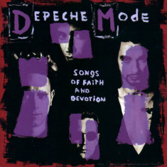 Depeche Mode - Songs Of Faith And Devotion Cd Audio