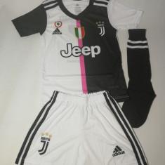 Echipament / compleu copii Juventus - Ronaldo - model 2019 + BONUS, XS/S, YM, YS, YXL, YXXL, Tricou + Pantalon