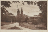 Craiova Parcul Romanescu carte postala perioada monarhista