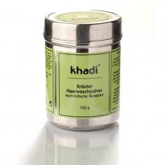 Sampon pudra cu amla reetha si shikakai Khadi 150g