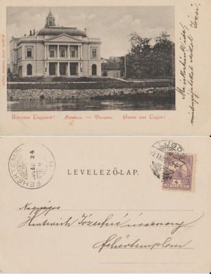 Lugoj 1901 - Teatrul foto