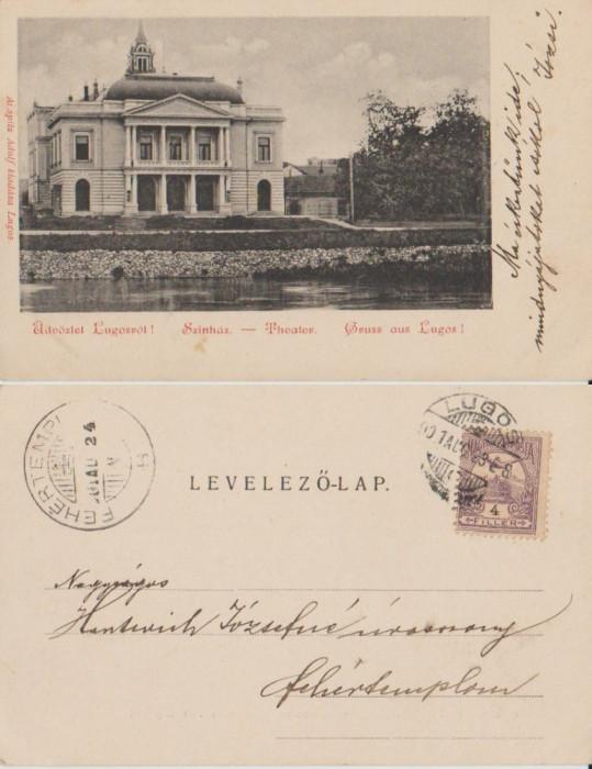Lugoj 1901 - Teatrul
