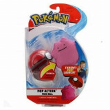 Pokemon figurina Ditto in bila lansatoare