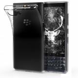 Husa pentru Blackberry Key2 LE, Silicon, Transparent, 46275.03